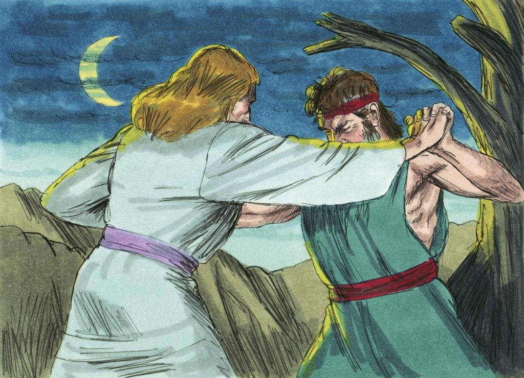 jaco luta com deus