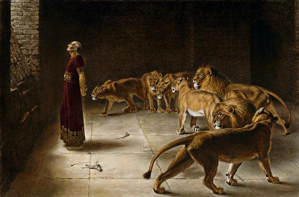 daniel na cova dos leoes