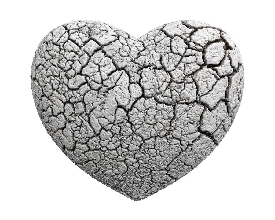 coração endurecido